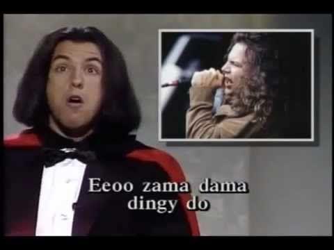 Adam Sandler SNL, Eddie Vedder spoof