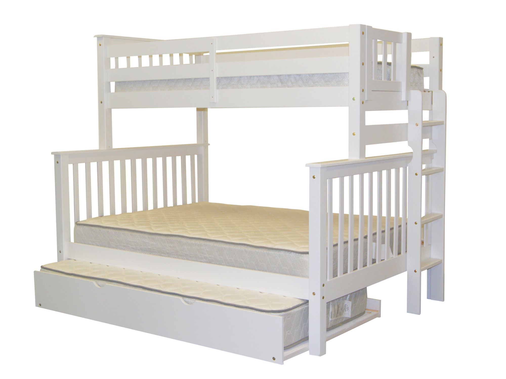 Treva Twin Over Full Bunk Bed With Trundle Home Decor En Logeerbed