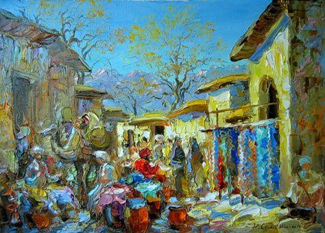 фото восточный базар