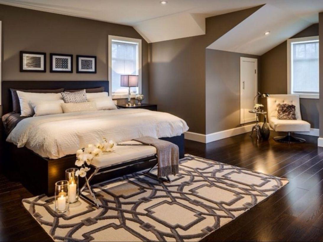 Dark Wood Floor Ideas for Modern Bedroom Dark wood Bedrooms