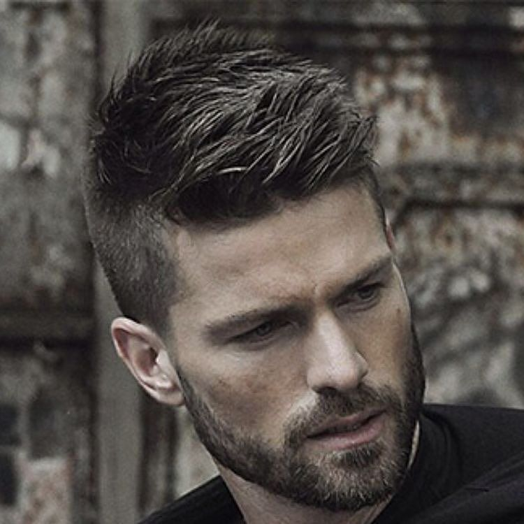 Nice Hairstyles For Men Unique Minus The Beard Haircut Is Nice For Dude  Corte De Pelo