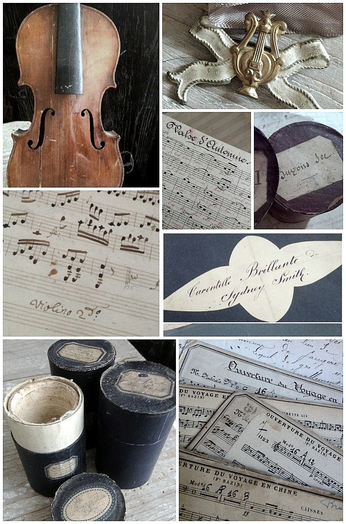 Musical items in the sale use TAKE20 at checkout FleaingFrance Brocante