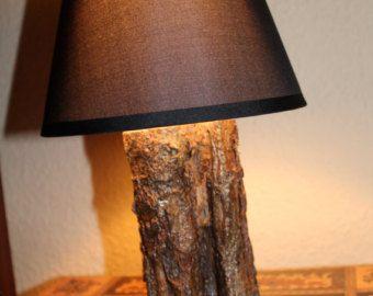 Rustikale lampe brannte rustikale holz viper special von sdnicewood