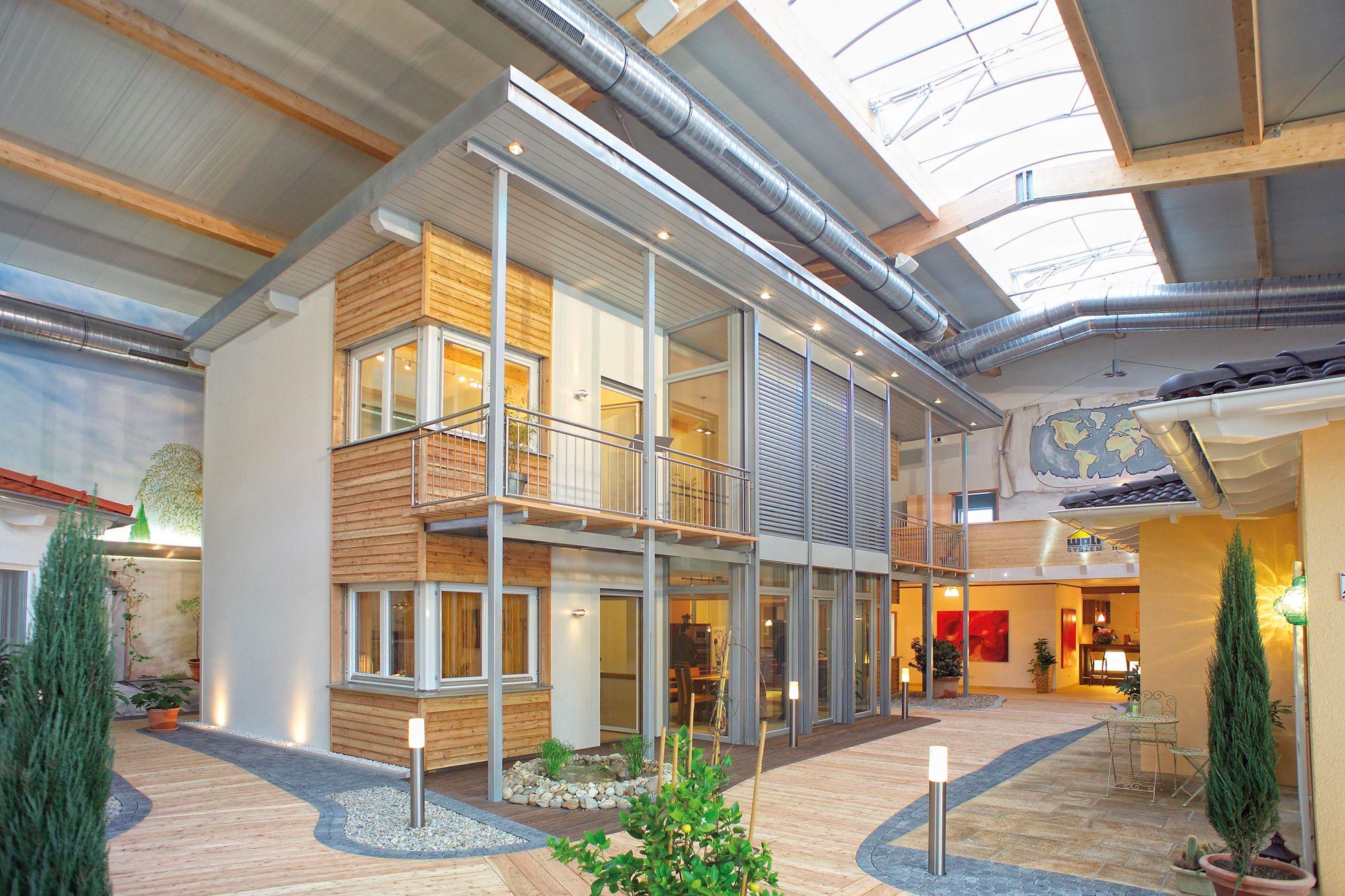 Musterhaus im WOLF Bauherrenstudio Osterhofen Haus