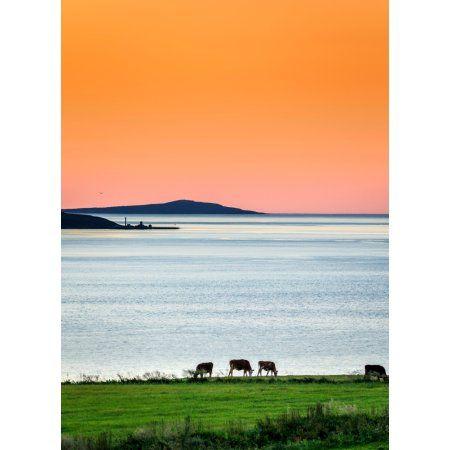 Home Panoramic Images Midnight Sun Iceland Midnight Sun