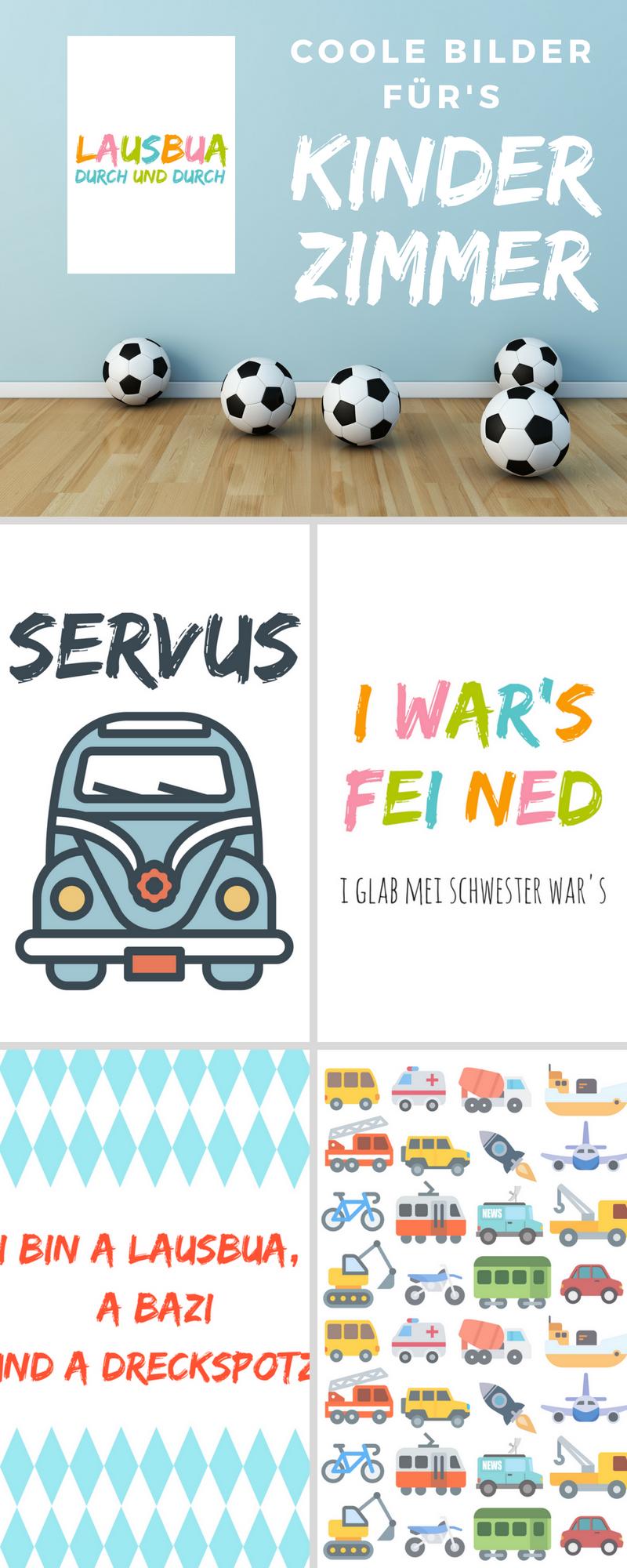 Coole Poster für das Kinderzimmer - Bayrische Sprüche und coole ...