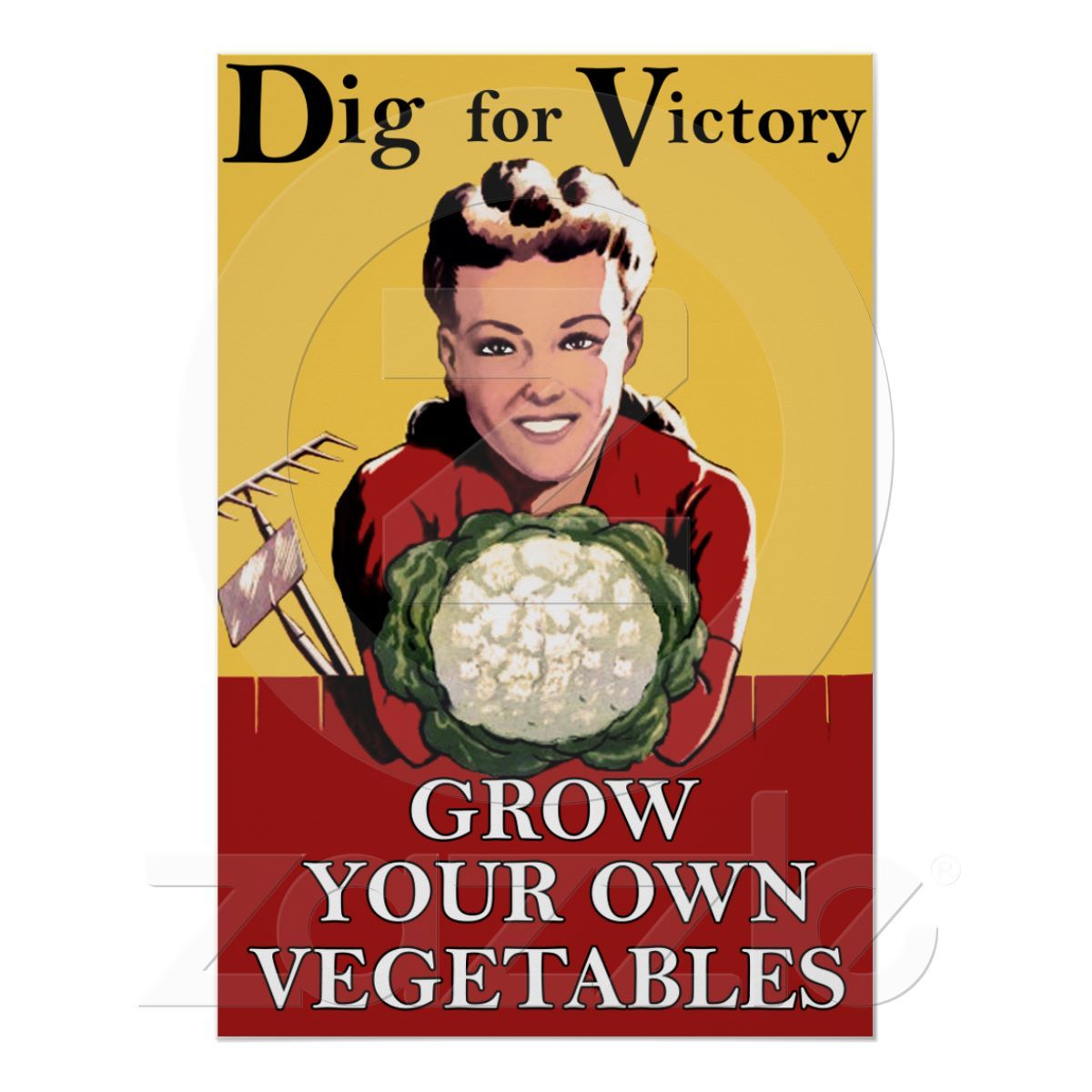 Vintage Dig for Victory Poster Dig for victory, Victory
