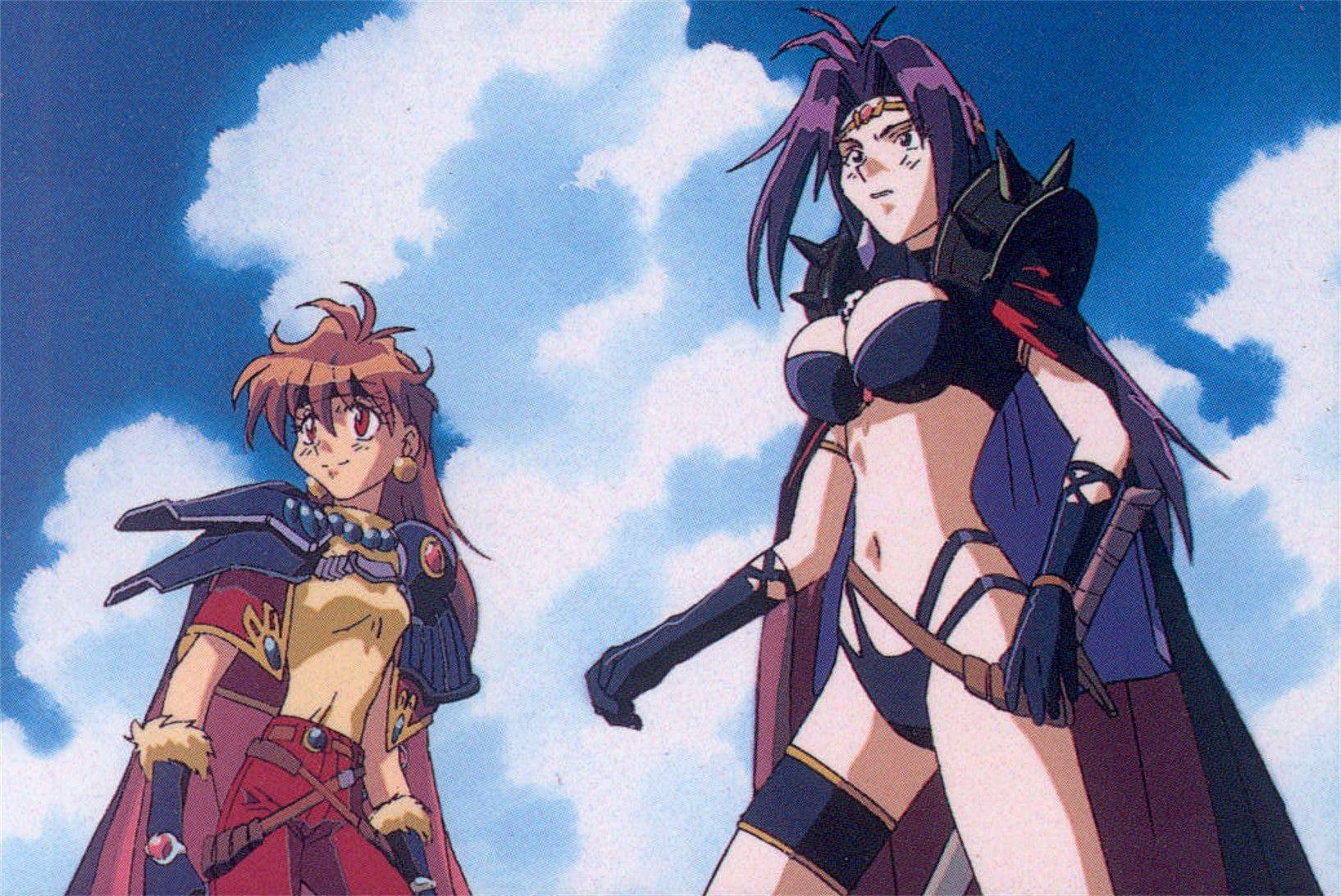 スレイヤーズ slayers comics lina and naga anime anime characters slayer