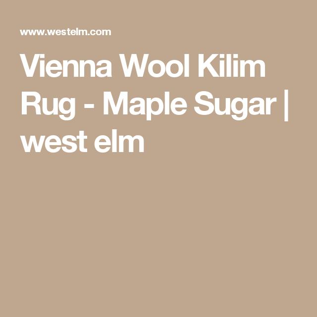 Vienna Wool Kilim Rug Maple Sugar Kilim Rugs Rugs Wool