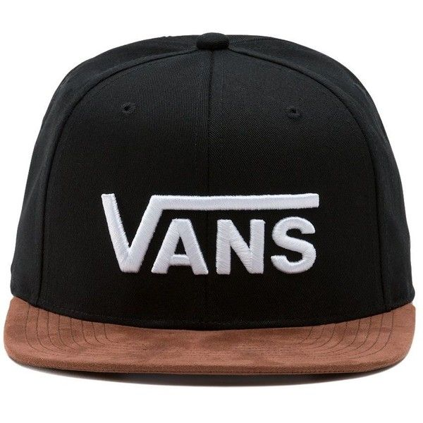 6c37dd6c65b Vans Batters Box Snapback Hat ( 28) ❤ liked on Polyvore featuring men s  fashion