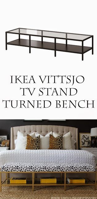 Dwellings By Devore Gold Upholstered Bench Tutorial Home Home Decor Ikea Diy