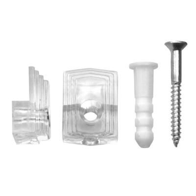 Ook 1 4 In 20 Lb Plastic Mirror Holder 4 Piece 50225 The Home Depot Hanging Mirror Mirror Clips Mirror