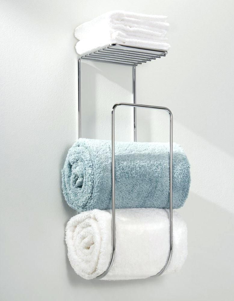 wall mounted towel storage wall mounted towel rack bathroom shelf ...