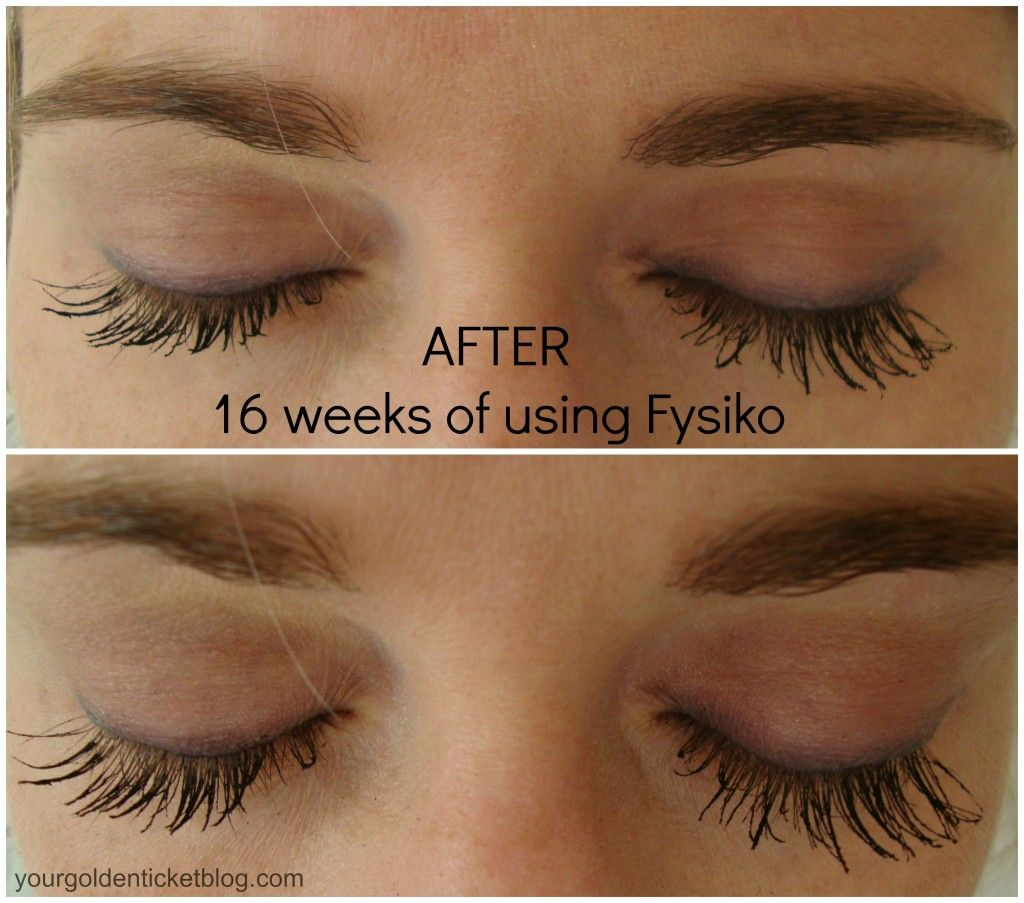 Longer Eyelashes with Fysiko Serum | Fysiko Eyelash ...