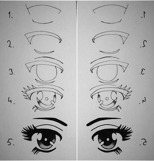 Learn To Draw Eyes Desenhos Realistas Desenhos Fáceis E