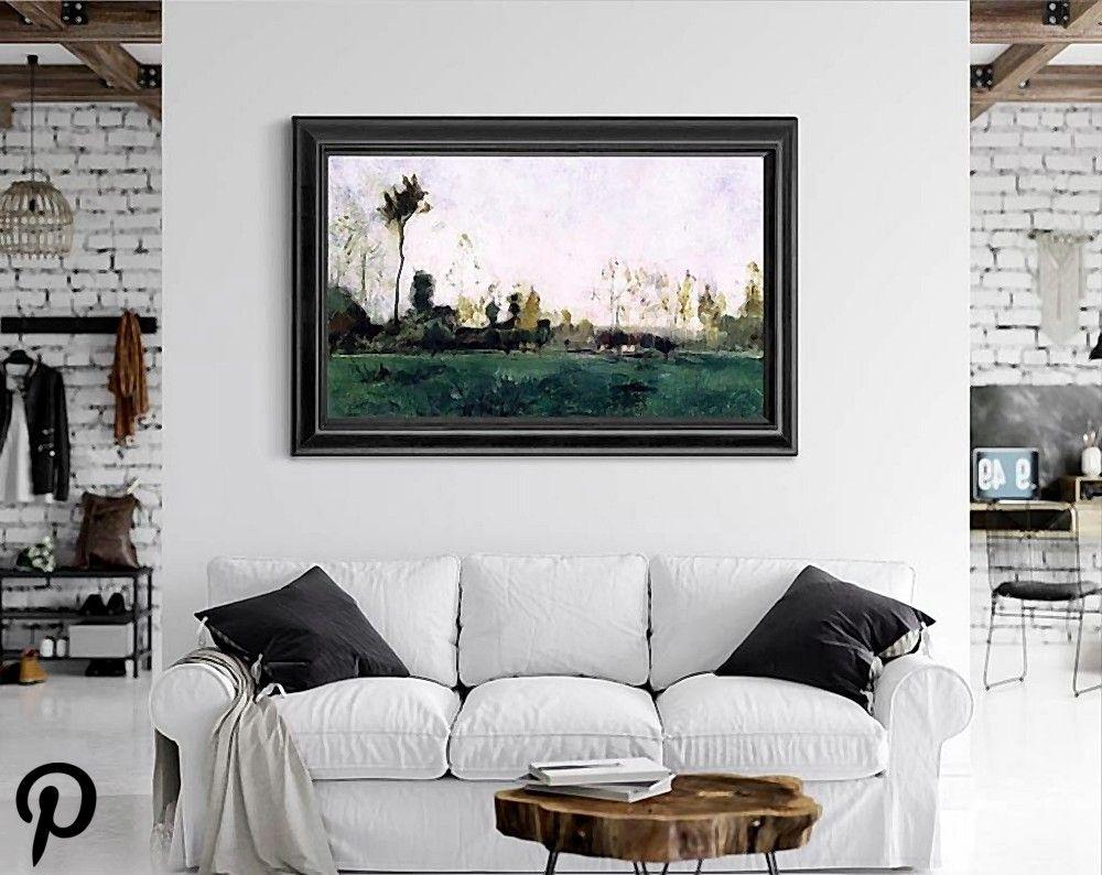 Spring Landscape 2 By John Twachtman Spring Landscape 2 By John Twachtman