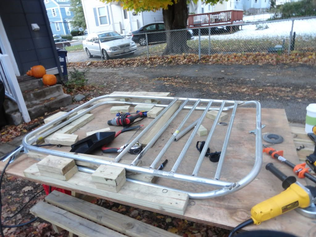 Build Your Own Roof Rack For 70 Jeepforum Com Roof Rack Roof Basket Jeep Xj