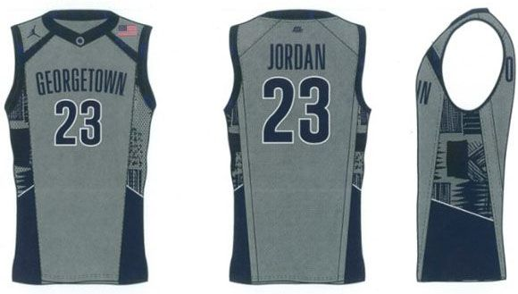 New Georgetown Basketball Uniforms Georgetown Basketball 657b2e6dc36
