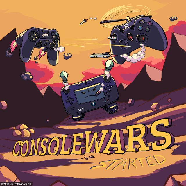 """""""Consolewars"""" by Pietro D'Amore"""