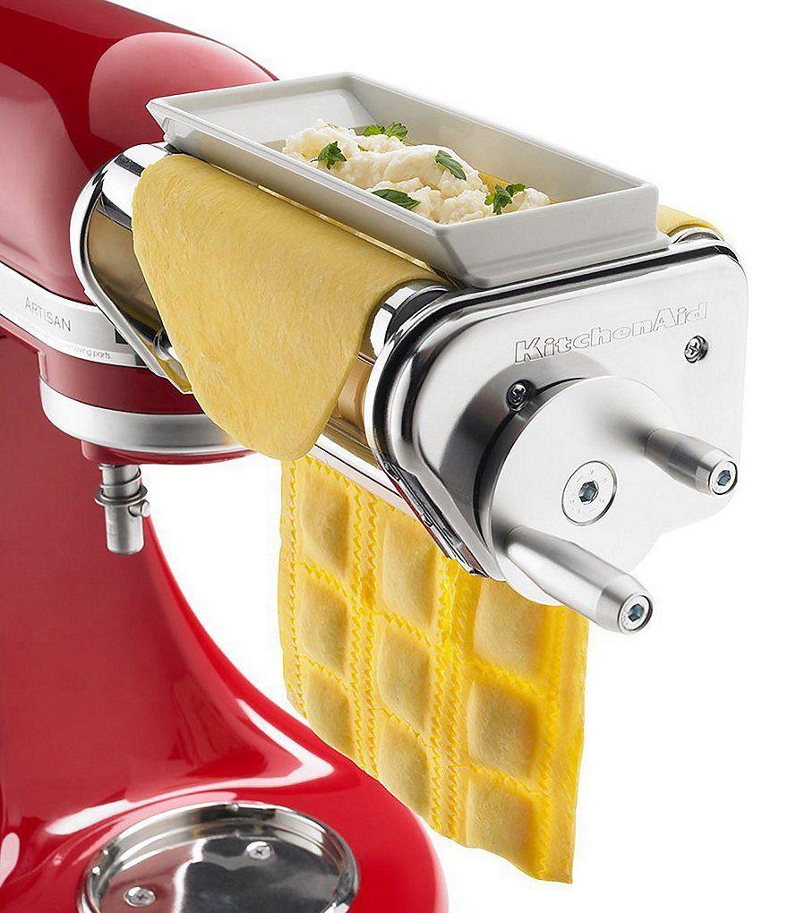 Kitchenaid Ravioli Maker Mixer Attachment Ravioli Kitchenaid
