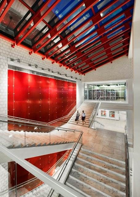 Library interior design award project title atlanta - Interior design schools in boston ...