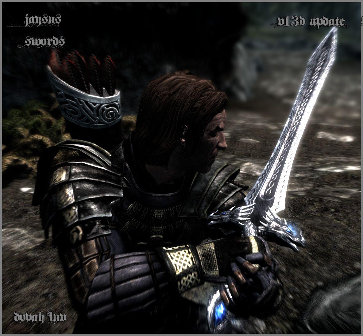 Jaysus Swords Skyrim Mod Skyrim Skyrim Nexus Mods Skyrim Mods