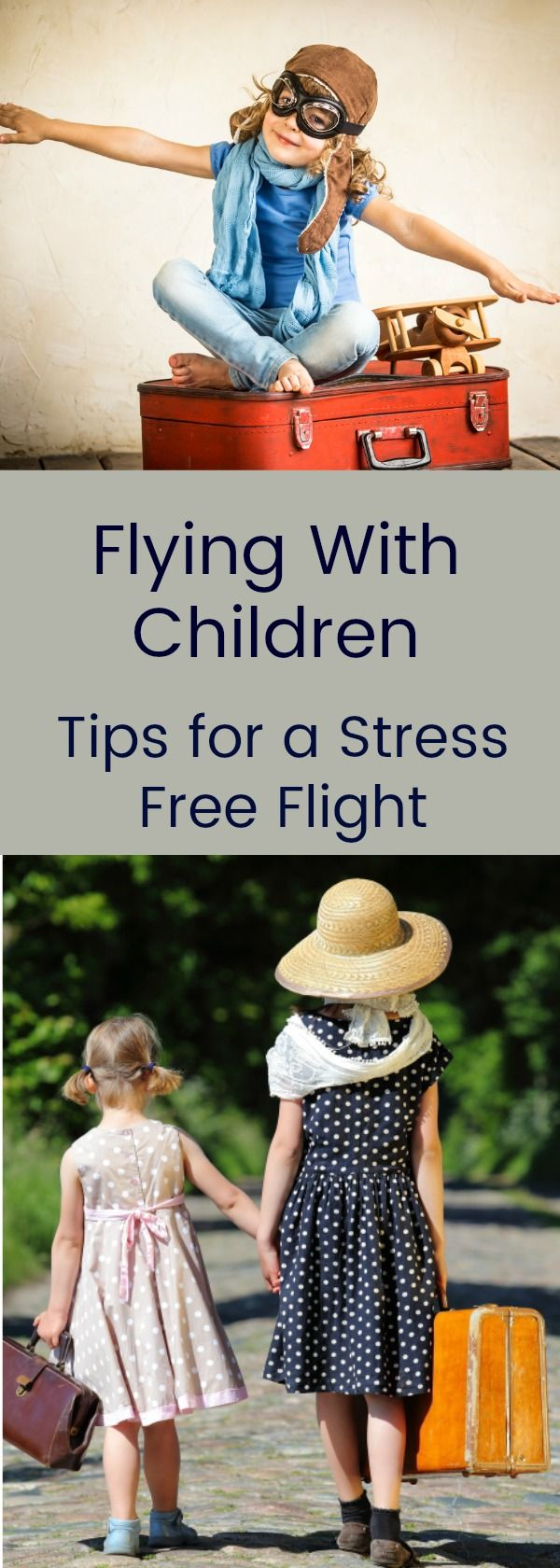 Flying with your children? This practical guide offers tips from leaving your house to reaching your destination so that everyone has an enjoyable experience.