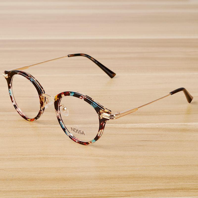 Click To Buy Nossa Vintage Floral Glasses Frame Women Men Retro Eyeglasses Frames Classic Unisex Retro Eyeglasses Retro Eyeglasses Frames Glasses Frames