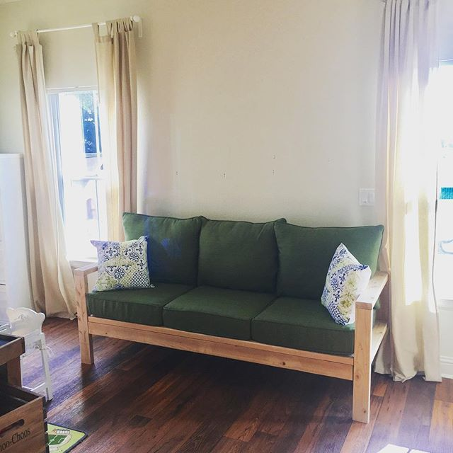 42 DIY Sofa Plans Free Instructions | Diy sofa, Cheap ...