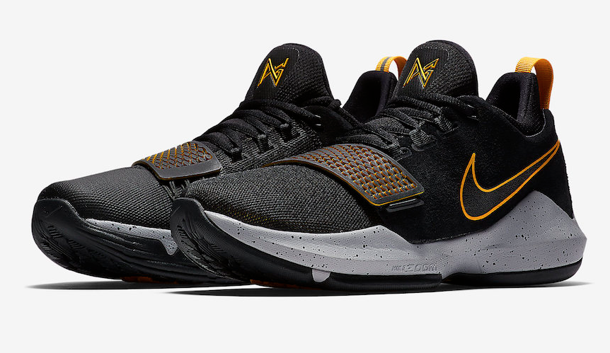 Gold Zapatos University 1 Nike Pg Black Images Official YAxCqPwaY