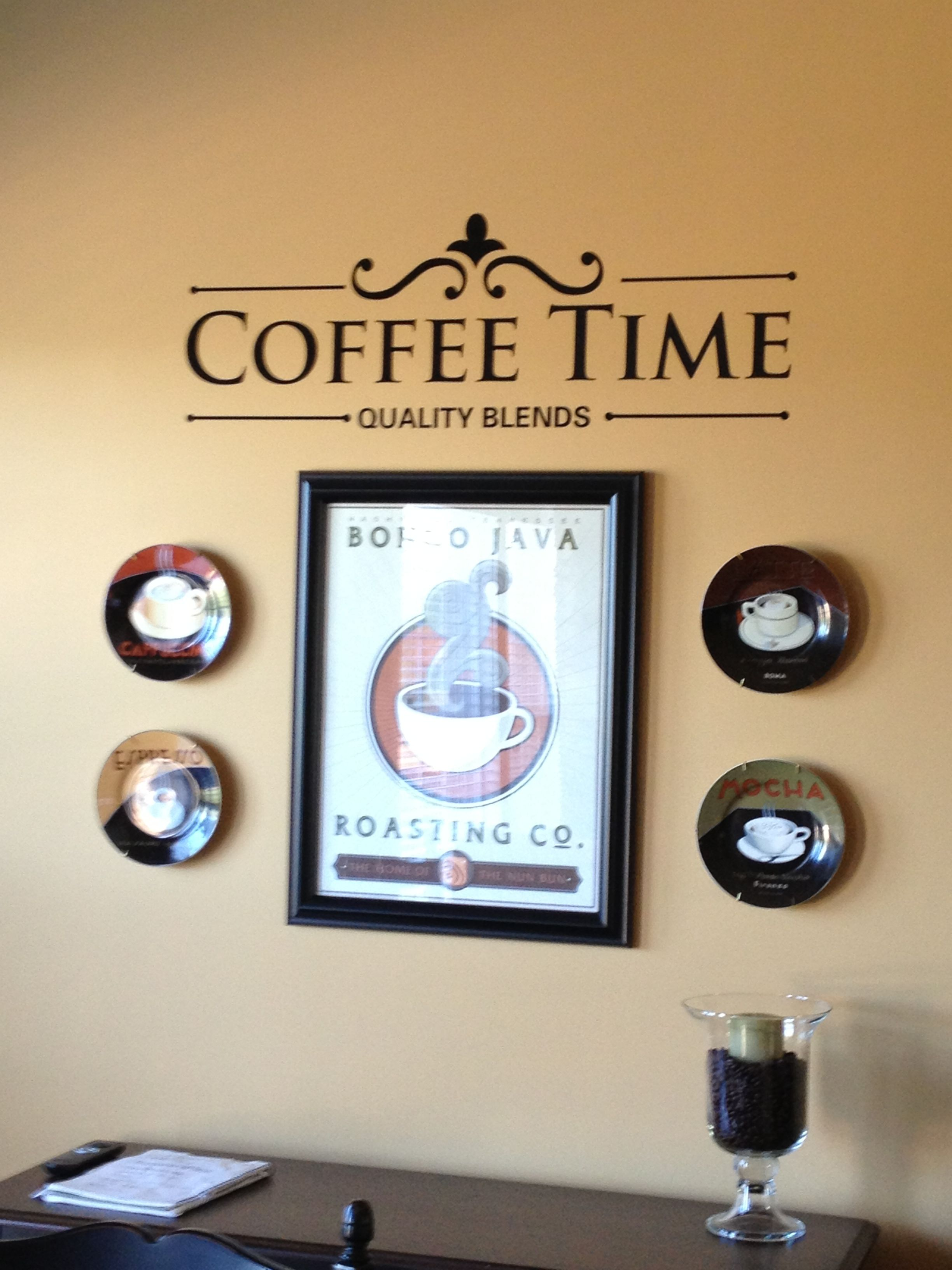 Coffee theme wall hangings | Ideas for my friends... | Pinterest ...