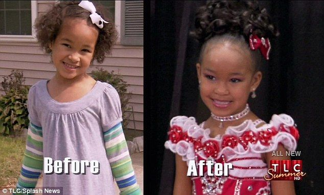 Eden Wood Ends Child Pageant Career On A High As She Wins In Season Finale Of Toddlers And Tiaras Despite Last Minute Meltdown Pageant Hair Toddler Pageant Pagent Hair