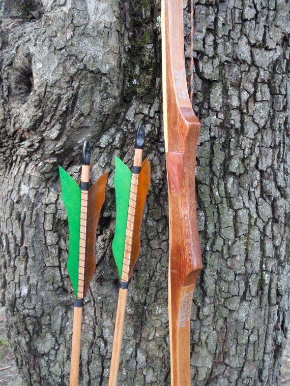 black locust wood bow