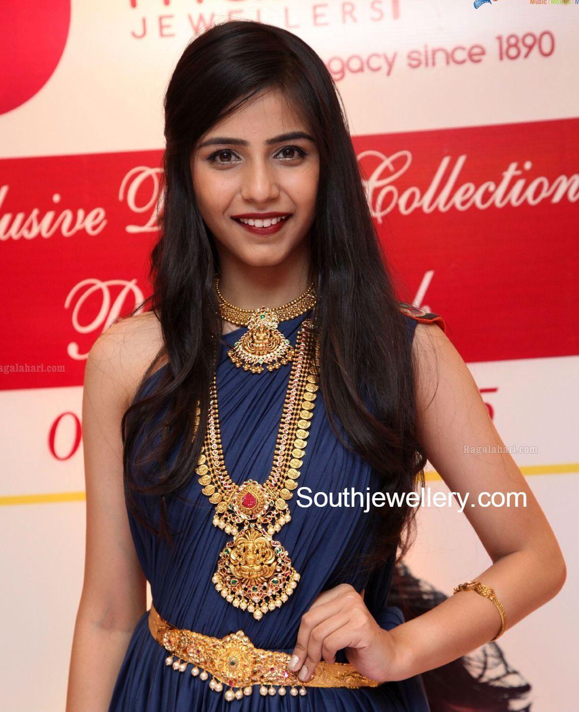 Suhasini in gundla haram jewellery designs - Gold Jewellery Jewellery Designs Jewelery
