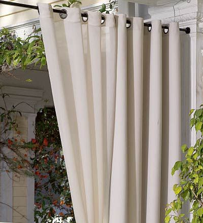 D For Front Porch Heavy Duty Steel Spring Tension Curtain Rods