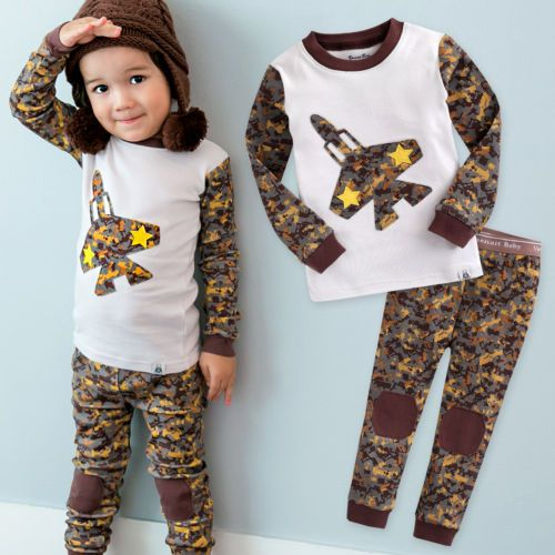 3692bd35edd6 NWT Vaenait Baby Infant Toddler Kids Boys Clothes Pajama Set