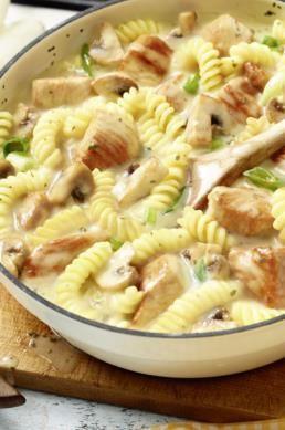 Idea de receta MAGGI para la olla de pavo con queso crema
