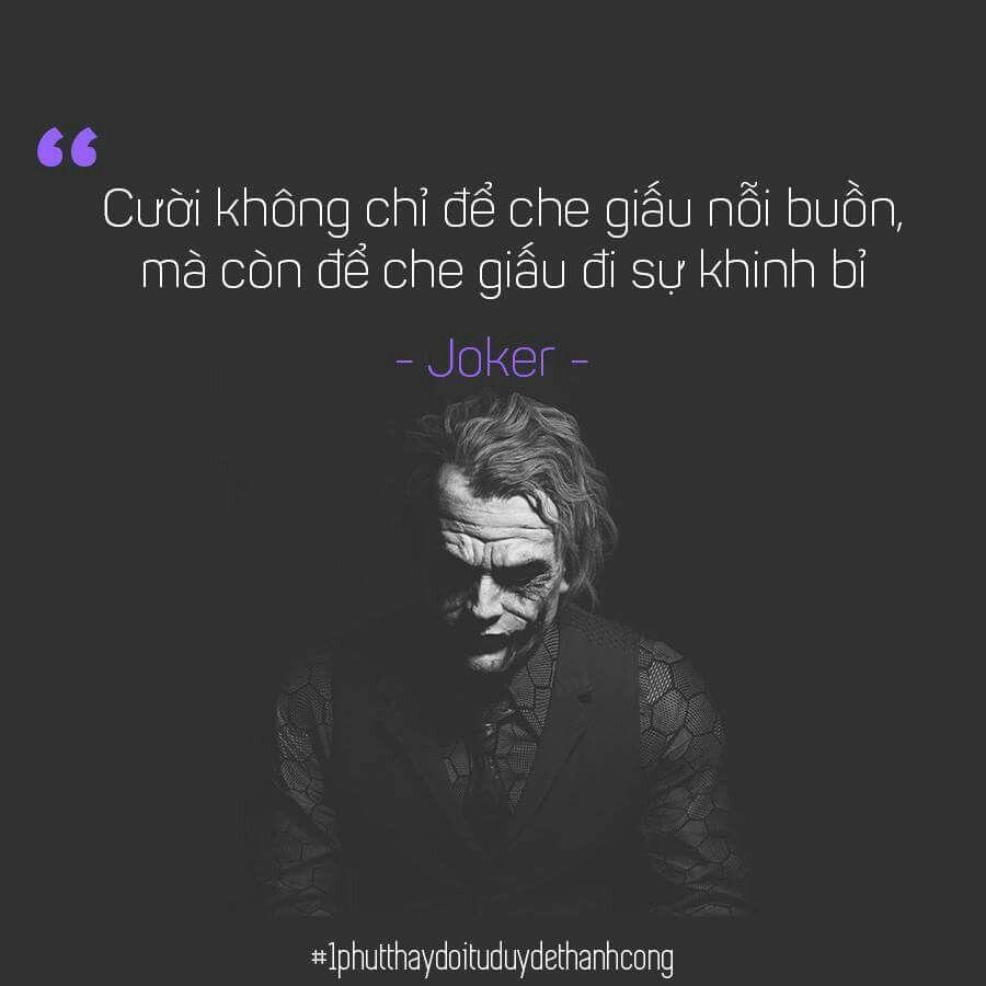Những câu nói làm nên hình ảnh của Joker