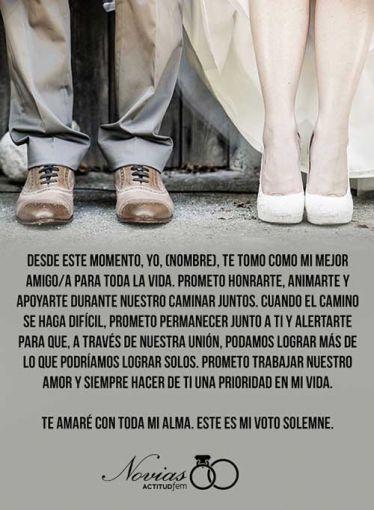 Asegúrate De Leer Tus Votos Matrimoniales En El Momento