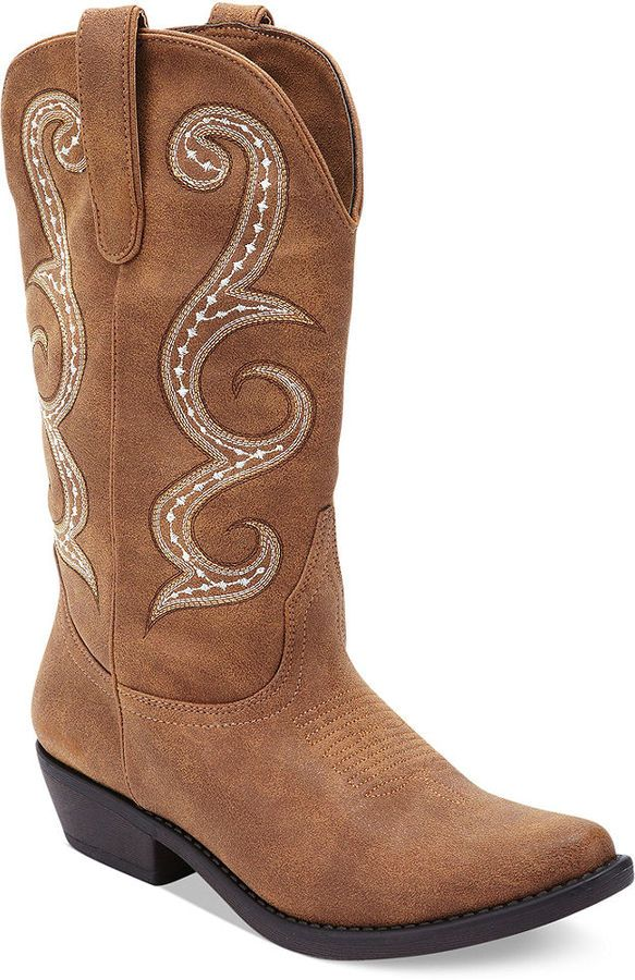 a57be6646 American Rag Dawnn Cowboy Boots on shopstyle.com