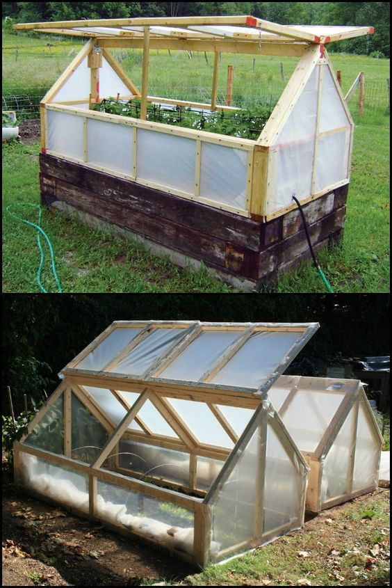 Build a mini greenhouse and extend your growing season