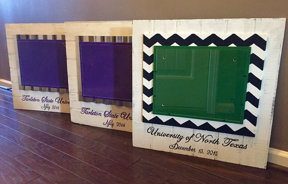 Unique Custom Diploma Frames. https://www.facebook.com/Willow-Woods ...