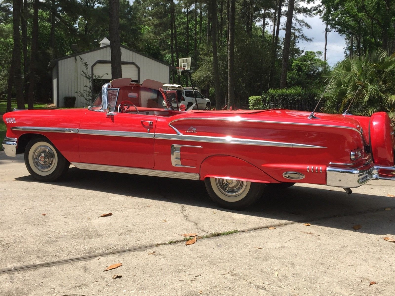 Pin By Ross Gillum On Collectible Cars Pinterest Chevy Impala 1957 Convertible Cool Awesome 1958 Chevrolet 58 With Continental Kit 2018 Check More At