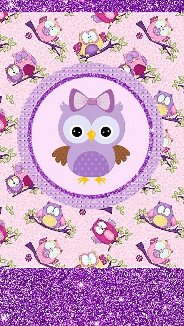 Cute Cartoon Bird Wallpapers Icandy Owl Wallpaper In 2019 Lechuzas Pantalla Dibujos