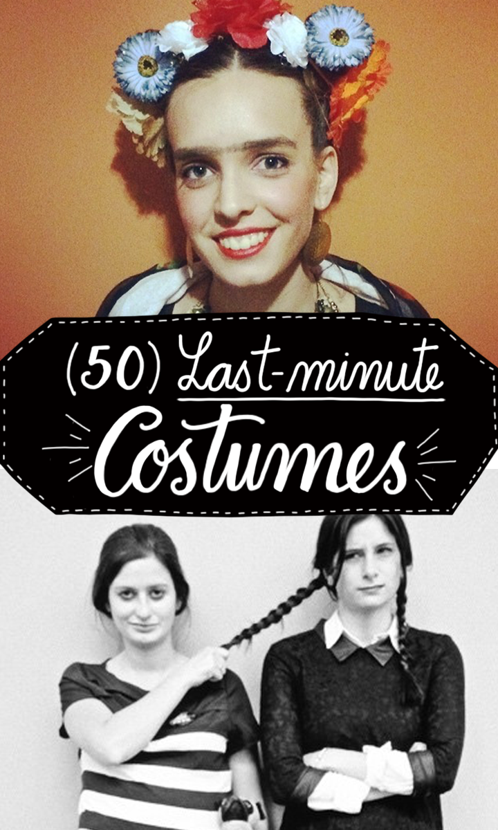50 lastminute Halloween costumes Last minute halloween