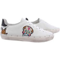 Photo of Rebecca Minkoff Sneakers Frau 00ms Na01 Michell Skull Nappa White New Rebecca Minkoff