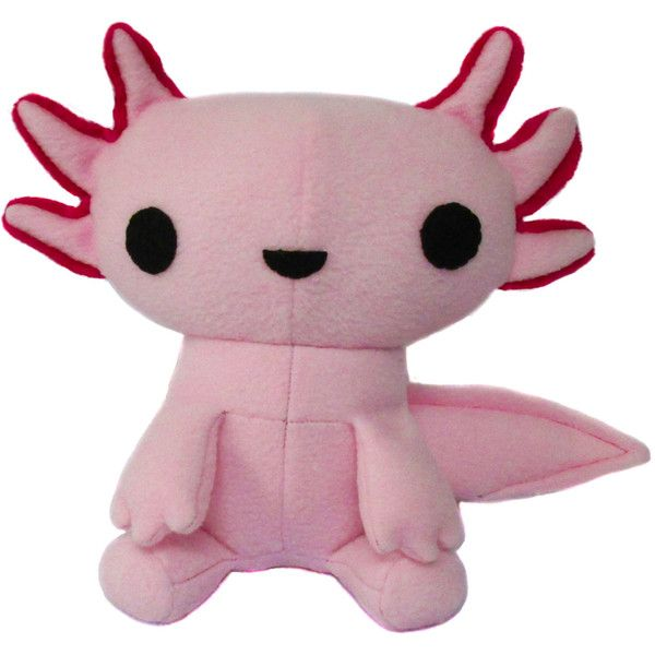 Kawaii PDF Pattern Axolotl Plush Toy Mexican Walking Fish (12 AUD ...
