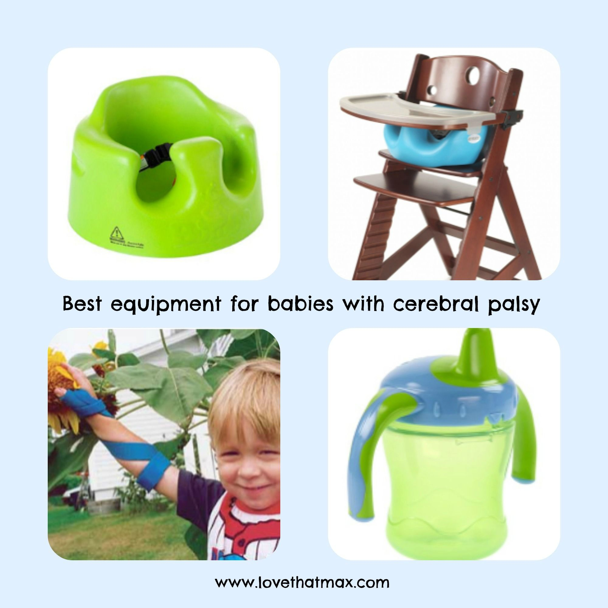 Best equipment for babies with cerebral palsy
