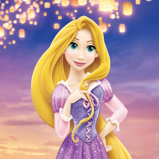 ディズニー 約21メートルもの美しい髪を持もつ少女 ラプンツェルの
