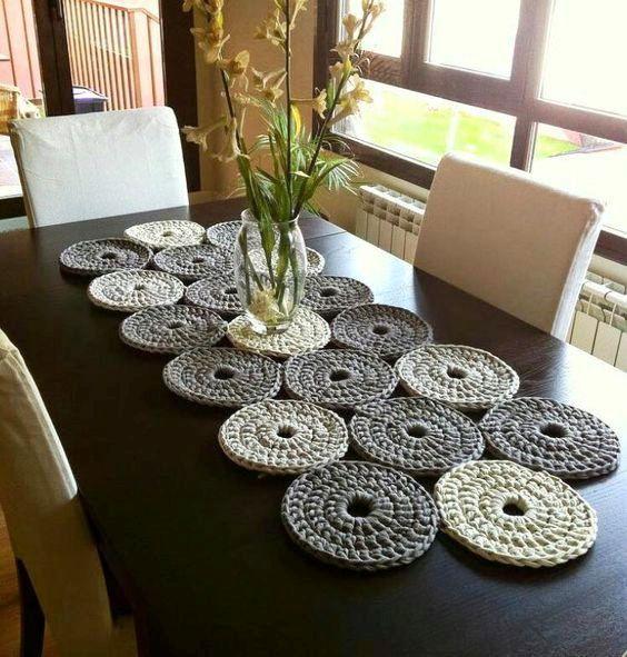 Photo of 20 unglaubliche DIY häkeln Tischdecke Ideen, um die gesamte Wohnatmosphäre zu …